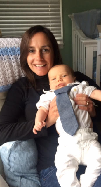 Jill with her son Nolan
